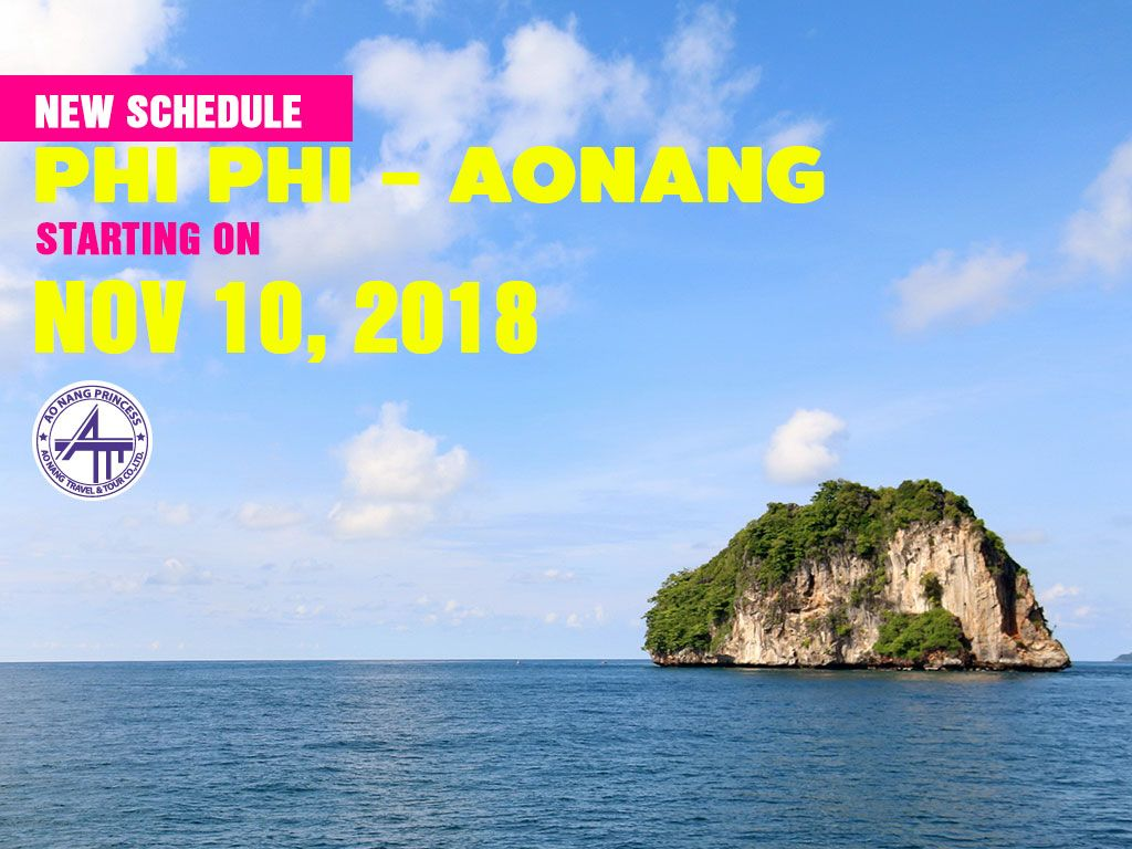 New time Phi Phi - Aonang (Nov 10, 2018)