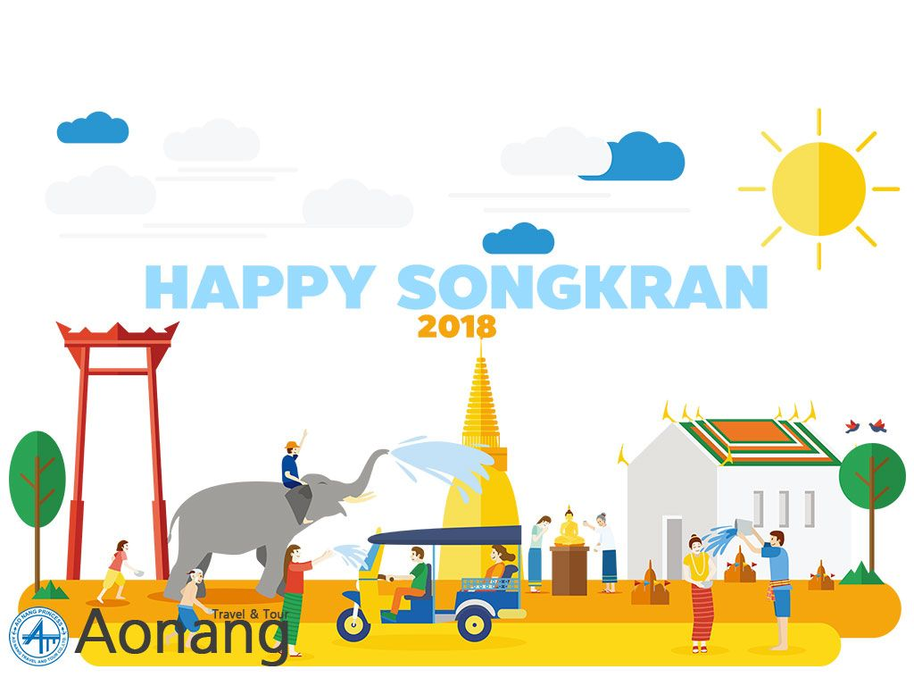 Happy Songkran 2018