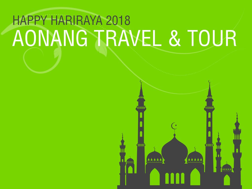 Reschedule trip on Hariraya 2018