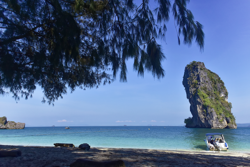 One day tour Phuket to Krabi by Big boat & Speed boat