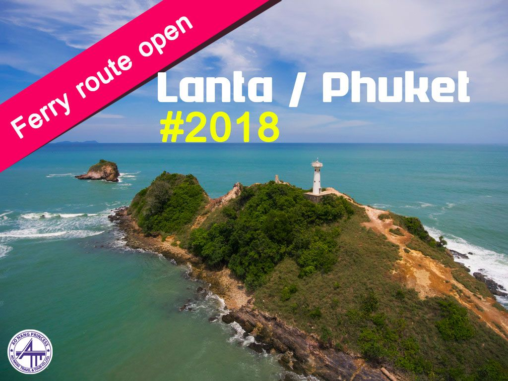 Ferry Schedule 2018 (Lanta / Phuket route)