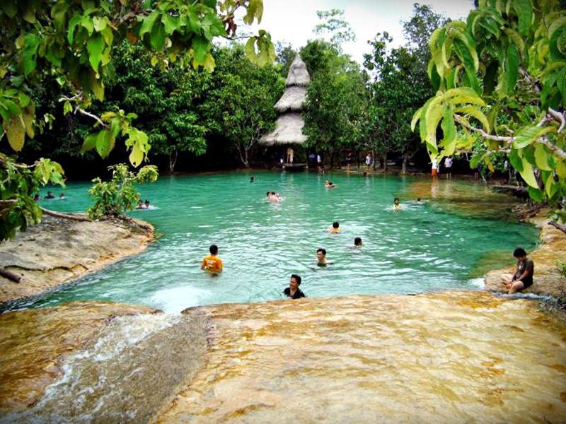 Jungle Tour Hot Spring & Emerald Pond  Boat, Cruise ...